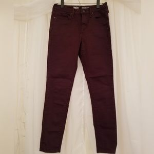 Mossimo Burgundy Denim